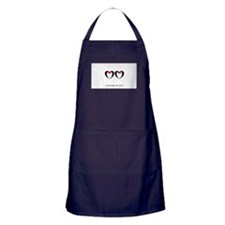 Married at last Gay Wedding Apron (dark)