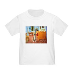 Room with a Boxer Toddler T-Shirt