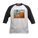 Room with a Boxer Kids Baseball Jersey