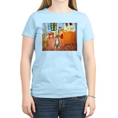 Room with a Boxer T-Shirt