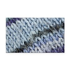 Knitwear 001 Rectangle Car Magnet