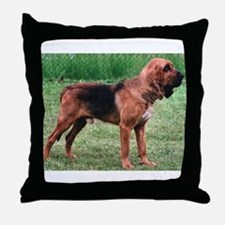 bloodhound full Throw Pillow