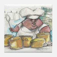 cookin New Orleans Style Tile Coaster