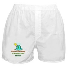 Melting Earth Boxer Shorts