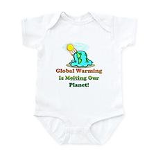 Melting Earth Infant Bodysuit