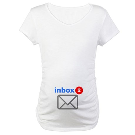 Inbox (Twins) Maternity T-Shirt