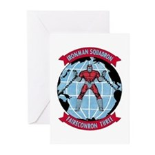 VQ 3 Ironman Greeting Cards (Pk of 10)