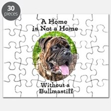 Bullmastiff-A Home is not a home Puzzle