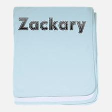 Zackary Metal baby blanket