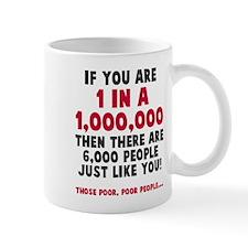 6,000 people just like you Mug