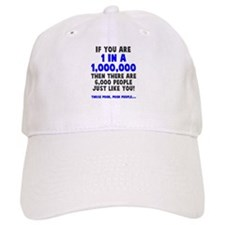 6,000 people just like you Baseball Cap