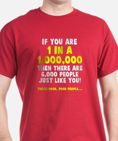 6,000 people just like you T-Shirt