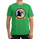VQ 4 Shadows Men's Fitted T-Shirt (dark)