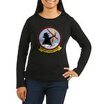 VQ 4 Shadows Women's Long Sleeve Dark T-Shirt