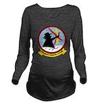 VQ 4 Shadows Long Sleeve Maternity T-Shirt
