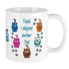 Oops! I Adopted Another Cat! Small Mug