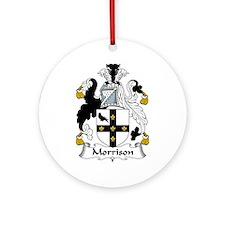 Morrison Ornament (Round)