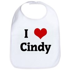 I Love Cindy Bib