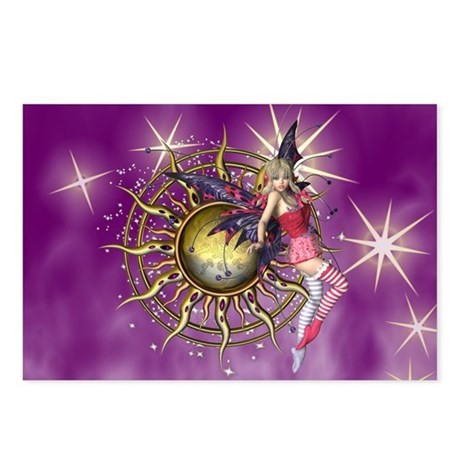 Purple Passion Fairy Postcards (Package of 8)