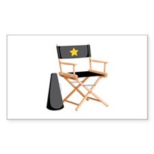 Director Chair Decal