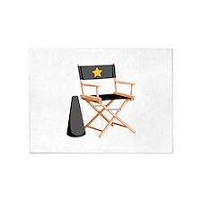 Director Chair 5'x7'Area Rug