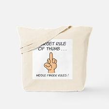 The Finger Tote Bag