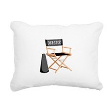 Director Rectangular Canvas Pillow