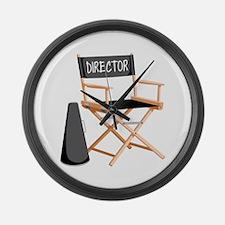 Director Large Wall Clock