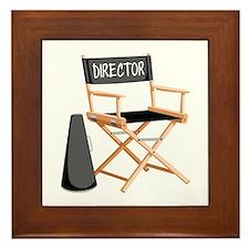 Director Framed Tile