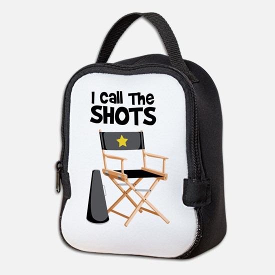 I Call the Shots Neoprene Lunch Bag