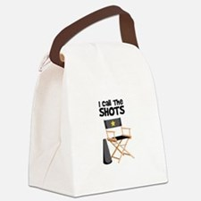 I Call the Shots Canvas Lunch Bag