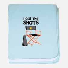 I Call the Shots baby blanket