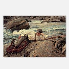 Sargent - On his Holidays Postcards (Package of 8)