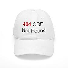 404 ODP Not Found Baseball Cap