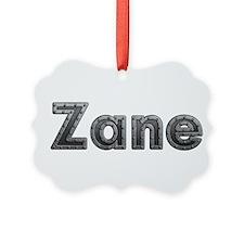 Zane Metal Ornament