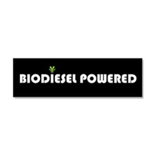 Unique Biodiesel bumper Car Magnet 10 x 3