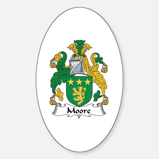 Moore Oval Decal