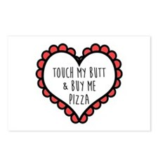 Pizza Love Postcards (Package of 8)