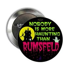 Rumsfeld Horror Pinback Button
