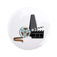 """Hollywood Film Movie 3.5"""" Button (100 pack)"""