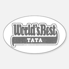 WB Grandpa [Telugu] Oval Decal