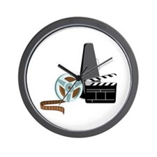 Hollywood Film Movie Wall Clock