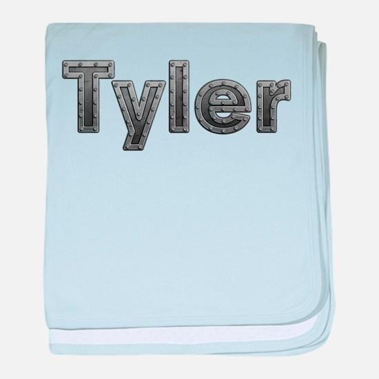 Tyler Metal baby blanket