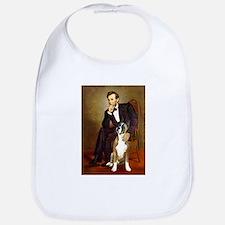Lincoln & his Boxer Bib