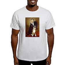 Lincoln & his Boxer T-Shirt