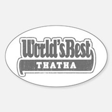 WB Grandpa [Tamil] Oval Decal