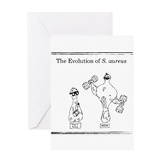 The Evolution of Staph aureus Greeting Cards