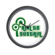 Sustain Wall Clock