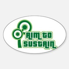 Sustain Oval Decal