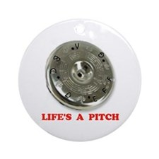 PITCH PIPE Ornament (Round)